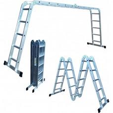 Лестница-трансформер 4*3, СТАНДАРТ 10,4кг мал. замок