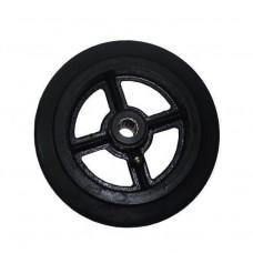 Колесо большегрузное обрезиненное без кронштейна D85 (диам. - 250 мм)