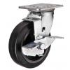 Колесо большегрузное обрезиненное поворотное с тормозом SCdb42, SCdb55, SCdb63, SCdb80