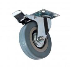 Колесо аппаратное поворотное с тормозом SCgb25 (диам. - 50 мм)