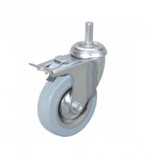 Колесо аппаратное поворотное с болтом и тормозом SCtgb25 (диам. - 50 мм)