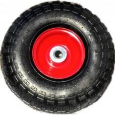 Колесо пневматическое PR1806-2  диам. 260 мм, ось 16 мм (симметричная ступица)