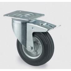 Колесо промышленное поворотное с тормозом SCb42 (диам. - 100 мм)