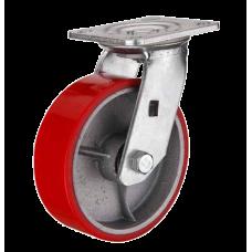 Колесо большегрузное полиуретановое поворотное SCp63 (диам. - 150 мм)