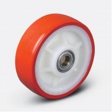 Колесо большегрузное полиуретановое неповоротное ED02 ZBP200 (диам. - 200 мм)